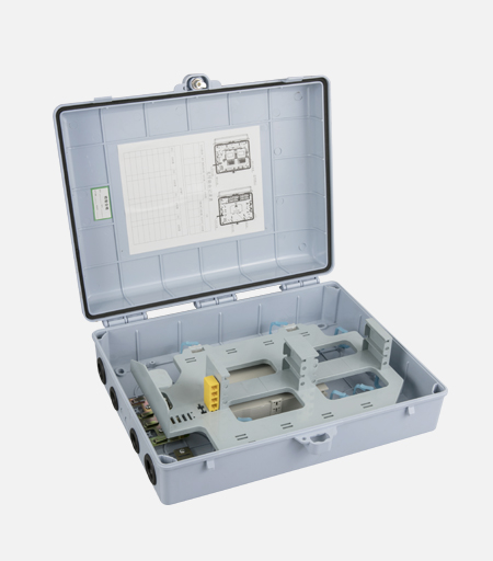 Model and function of optical fiber junction box