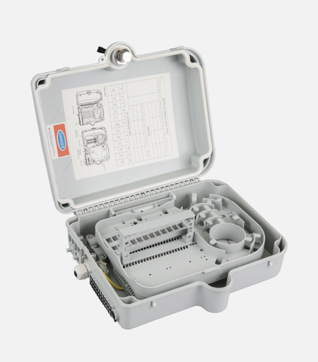 24 Core Capacity Fiber Optic Termination Box